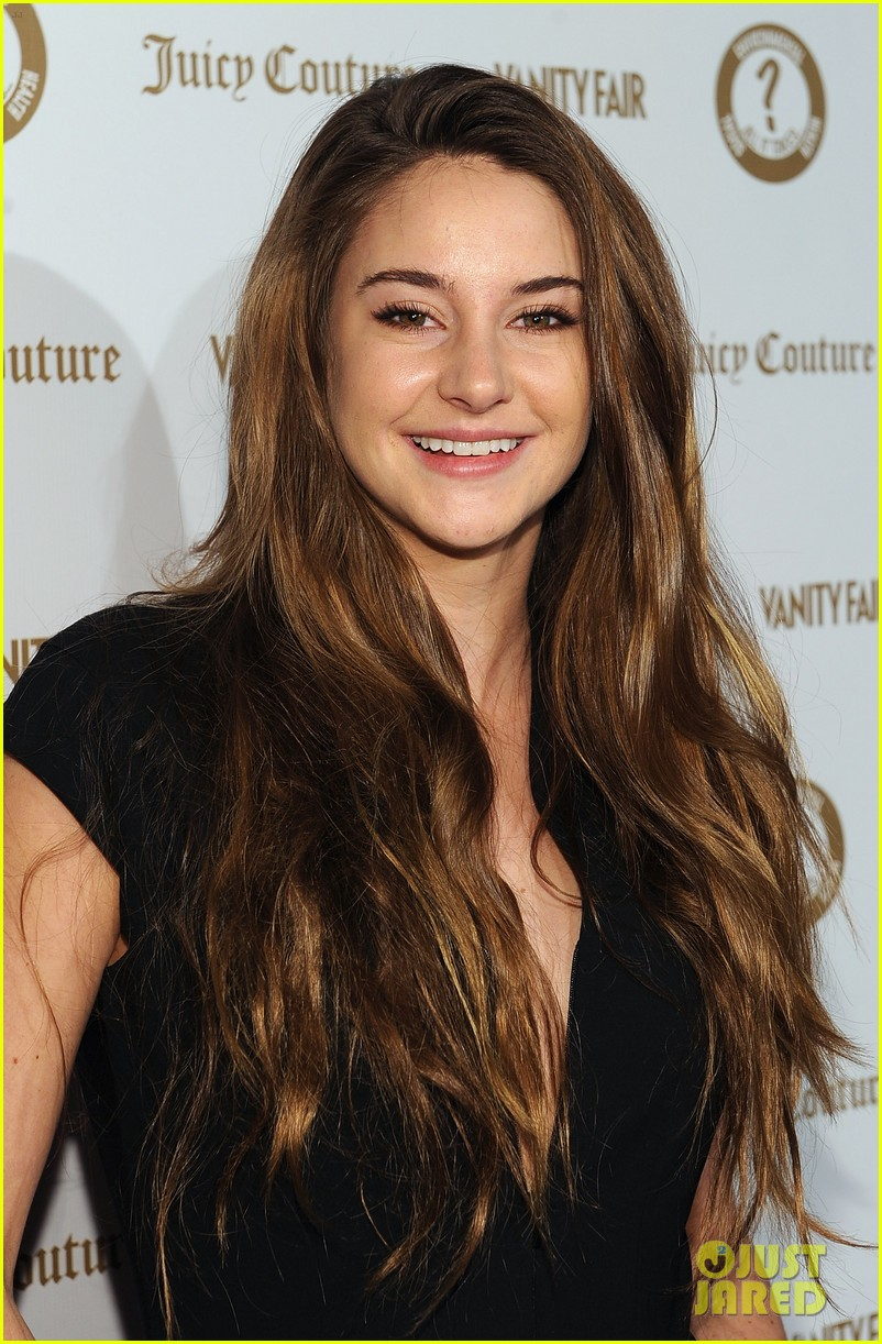 Shailene Woodley Hosts Vanity Fair s  Vanities  PartyShailene Woodley