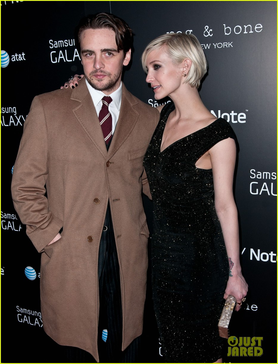 ashlee simpson vincent piazza fashion take note party 13