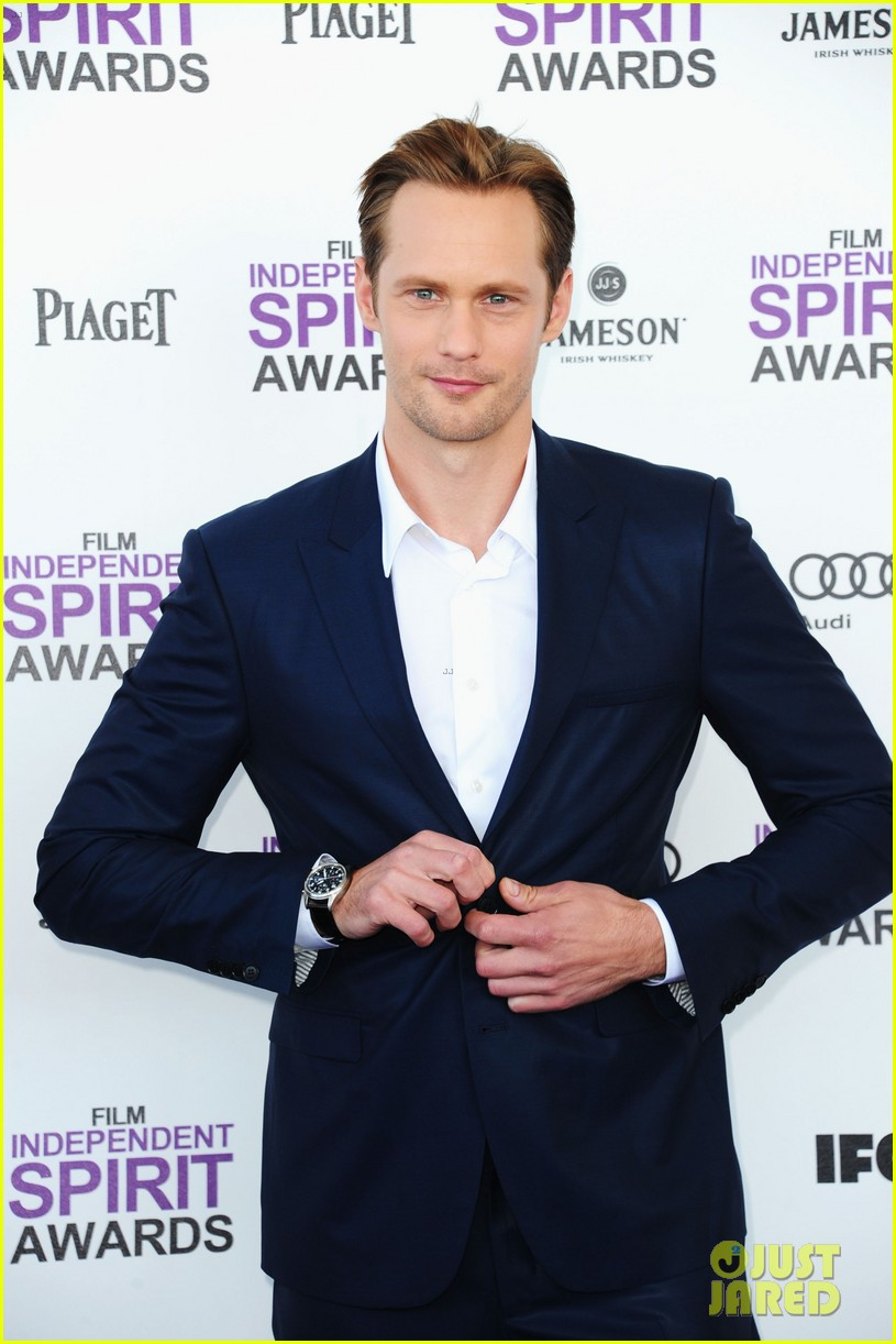 alexander skarsgard spirit awards 2012 03