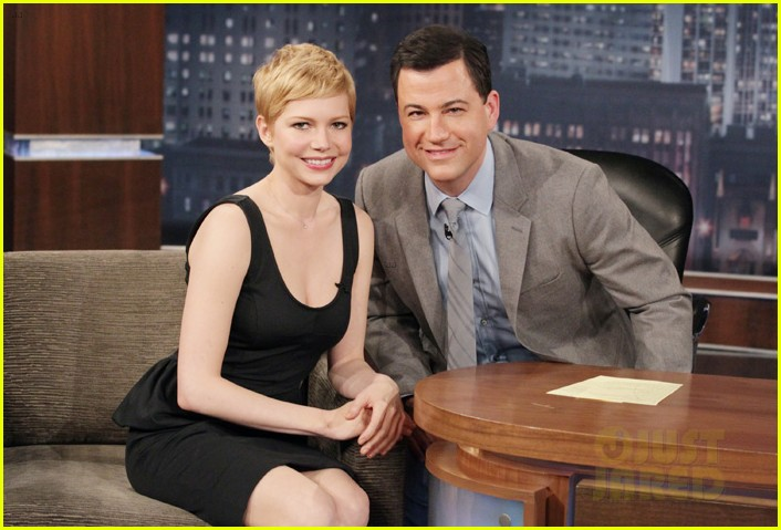 michelle williams jimmy kimmel live interview 01