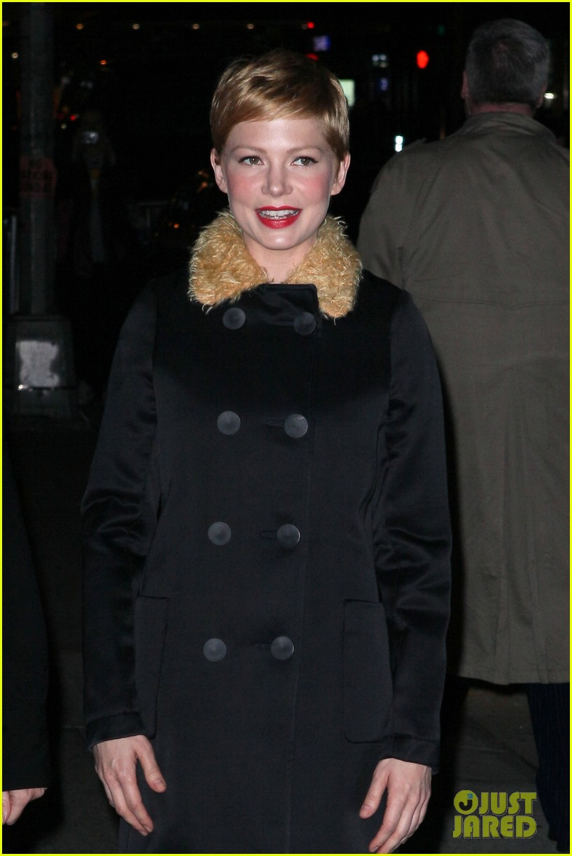 michelle williams letterman 02