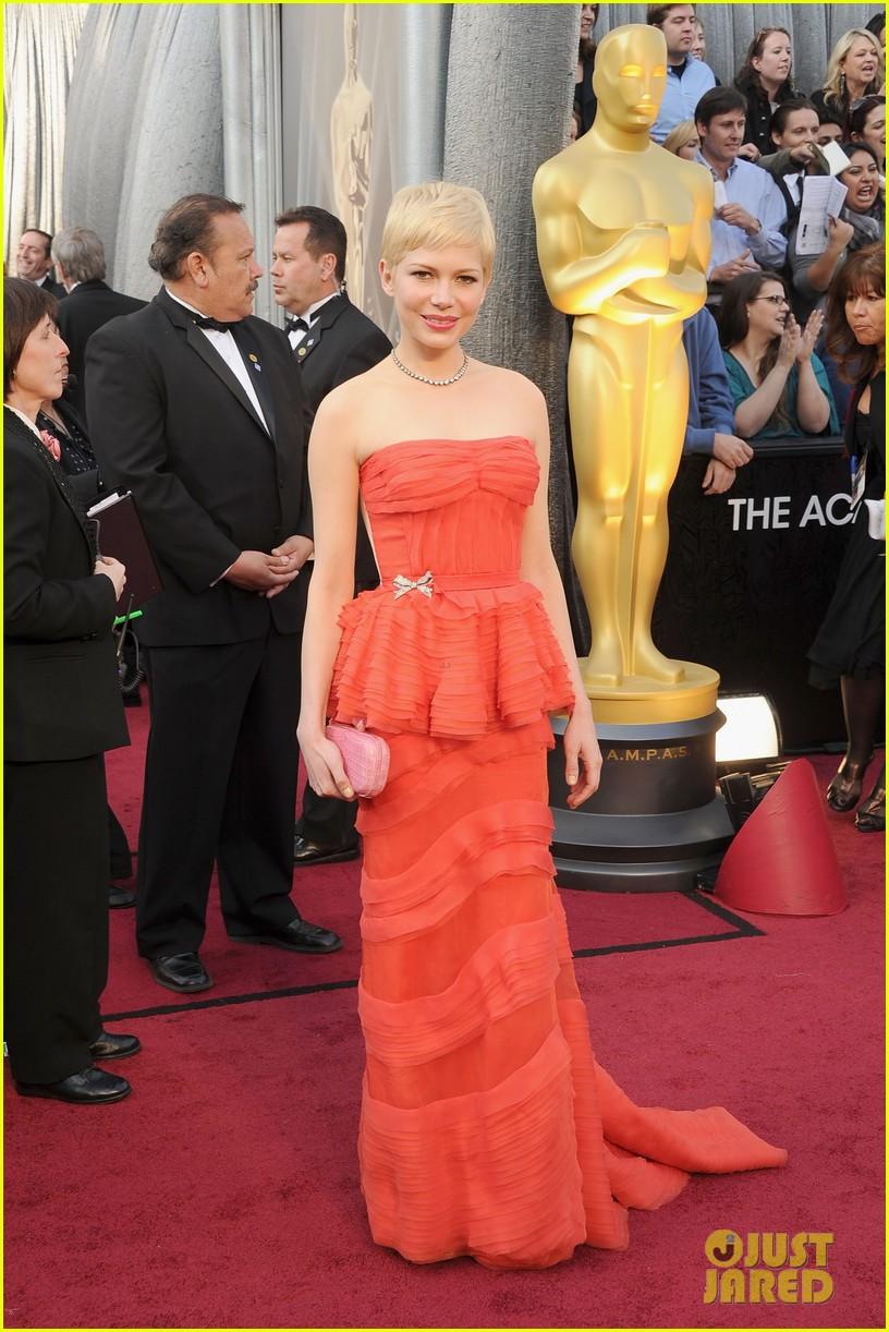 michelle williams 2012 oscars 072633454