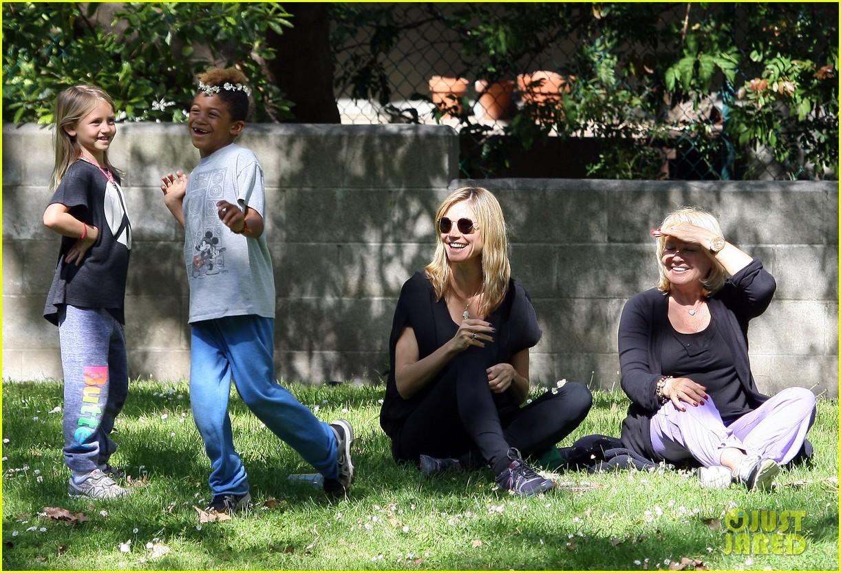 Family with heidi klum