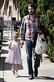 ben affleck brings violet to ballet class 15