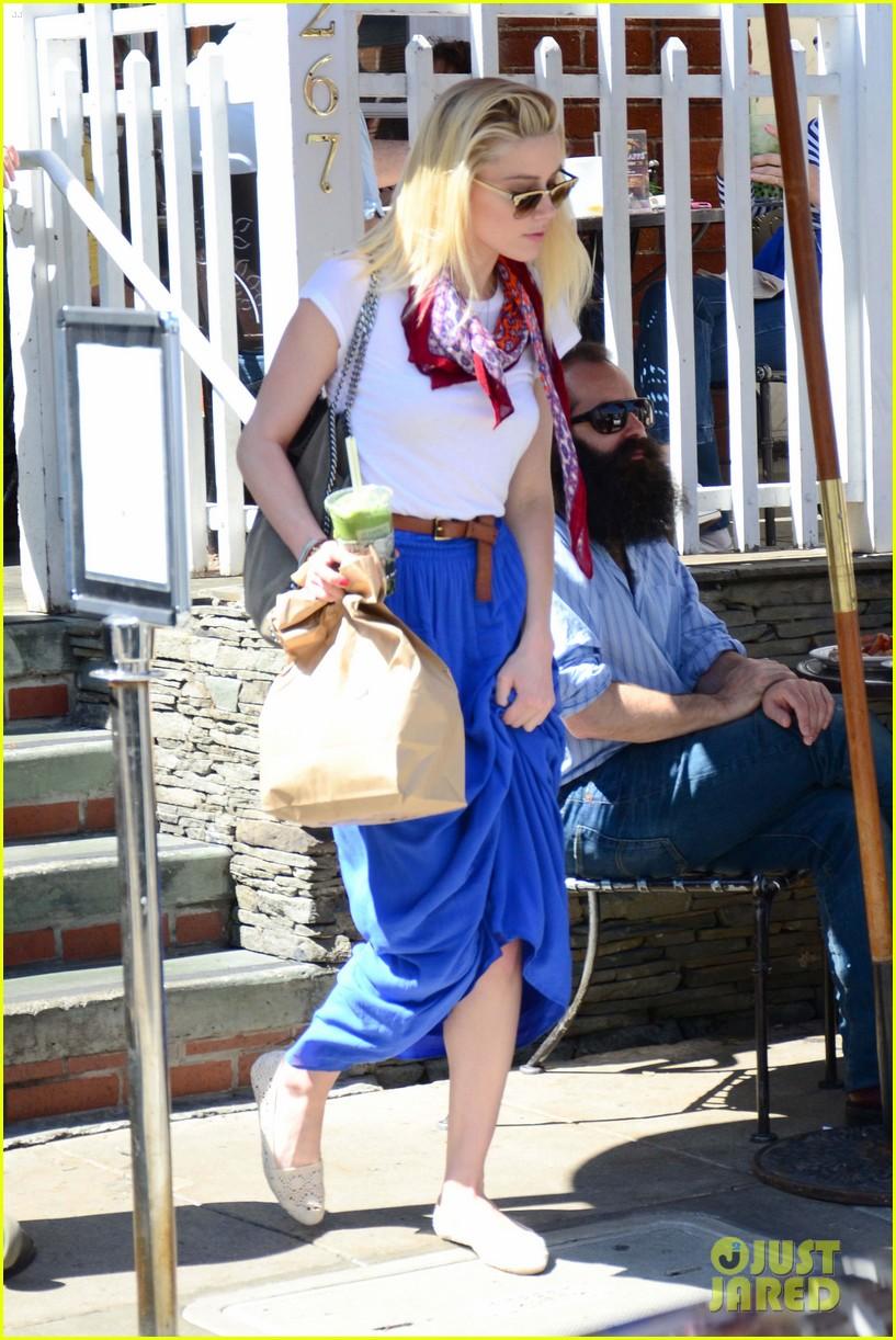 Amber Heard: Coffee Run at Urth Caffe Amber Heard