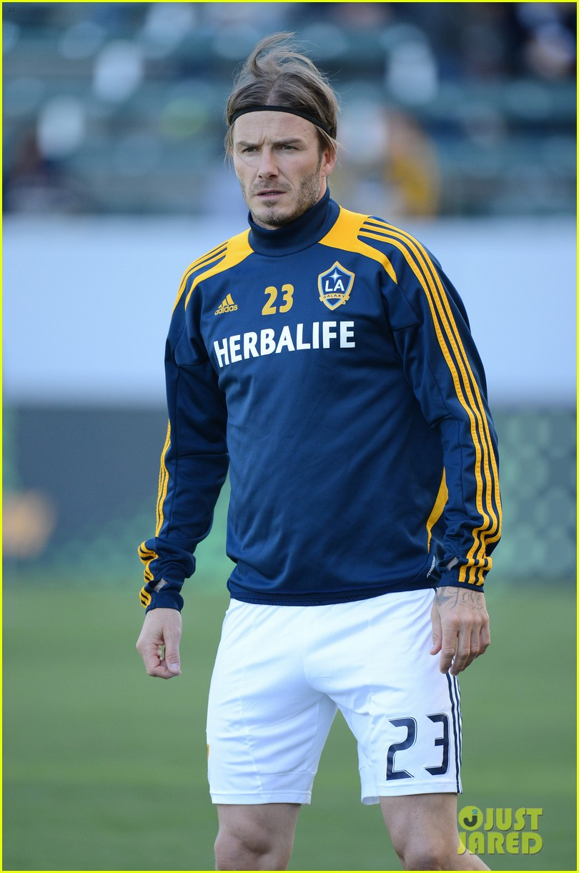 david beckham first l a galaxy win of the season 132640343