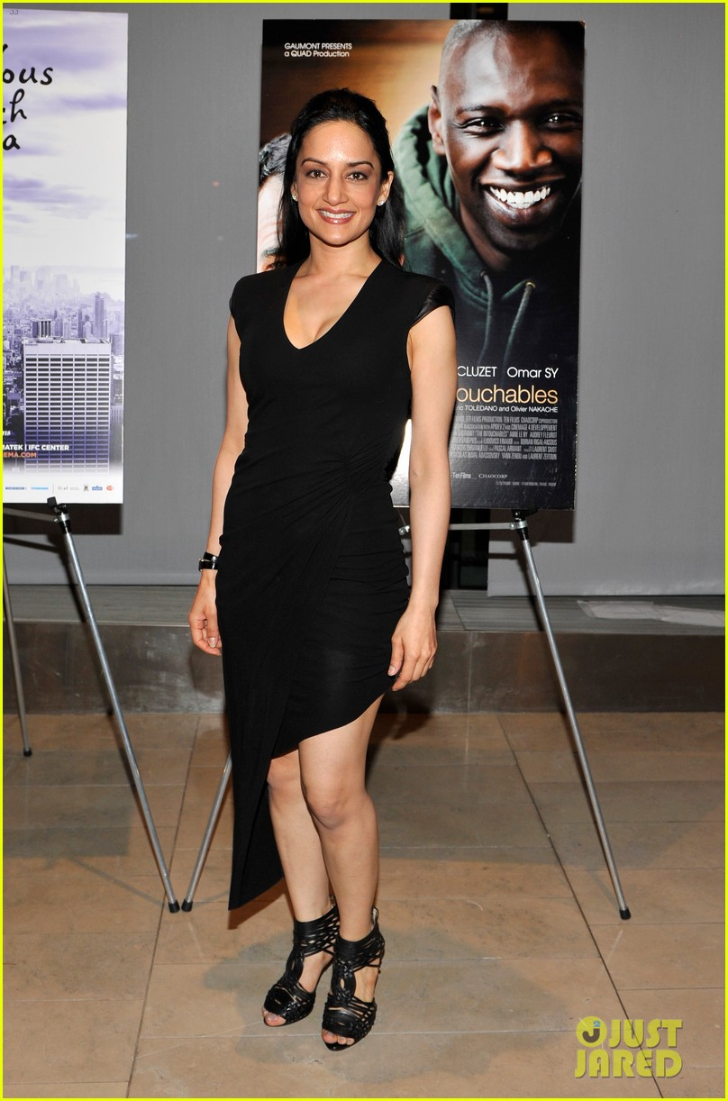 matt czuchry intouchables screening with archie panjabi 01