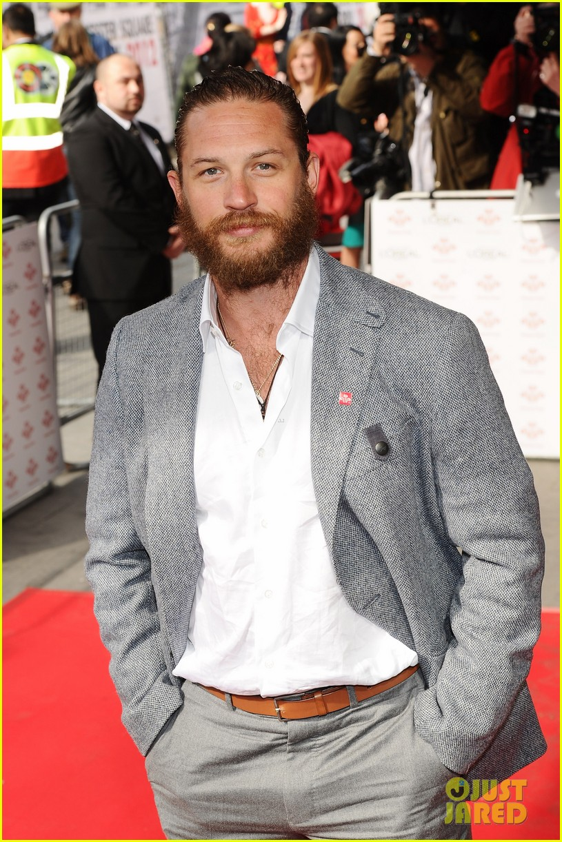 tom hardy beard princes trust 03