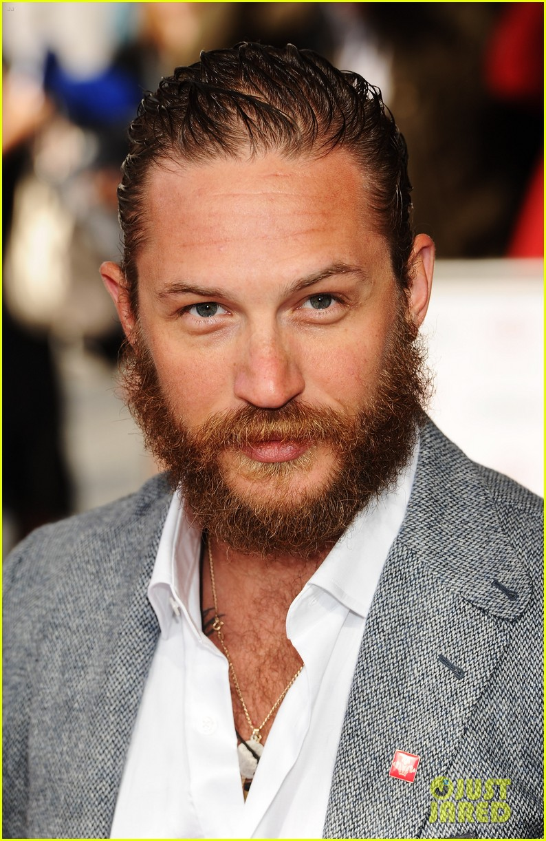 tom hardy beard princes trust 04
