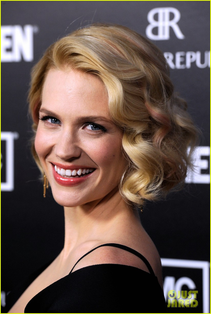 january jones jon hamm mad men premiere 08
