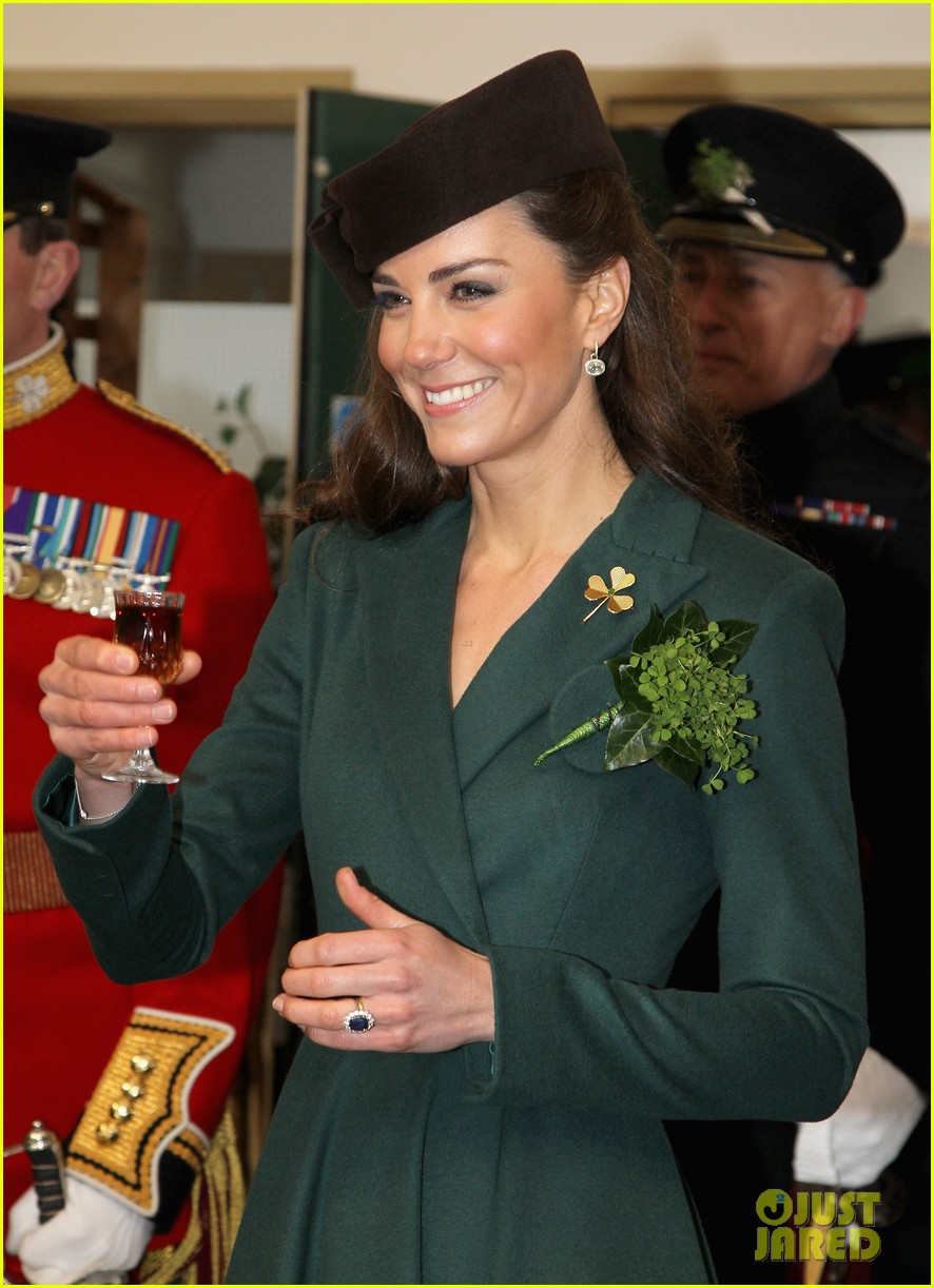 duchess kate saint patricks day 052639798