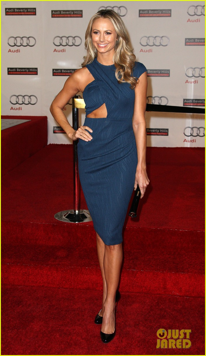 Full Sized Photo Of Stacy Keibler Audi Opening 09 Photo