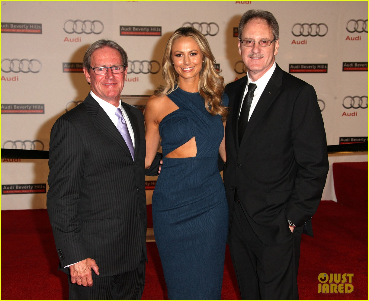 stacy keibler audi opening 112637443
