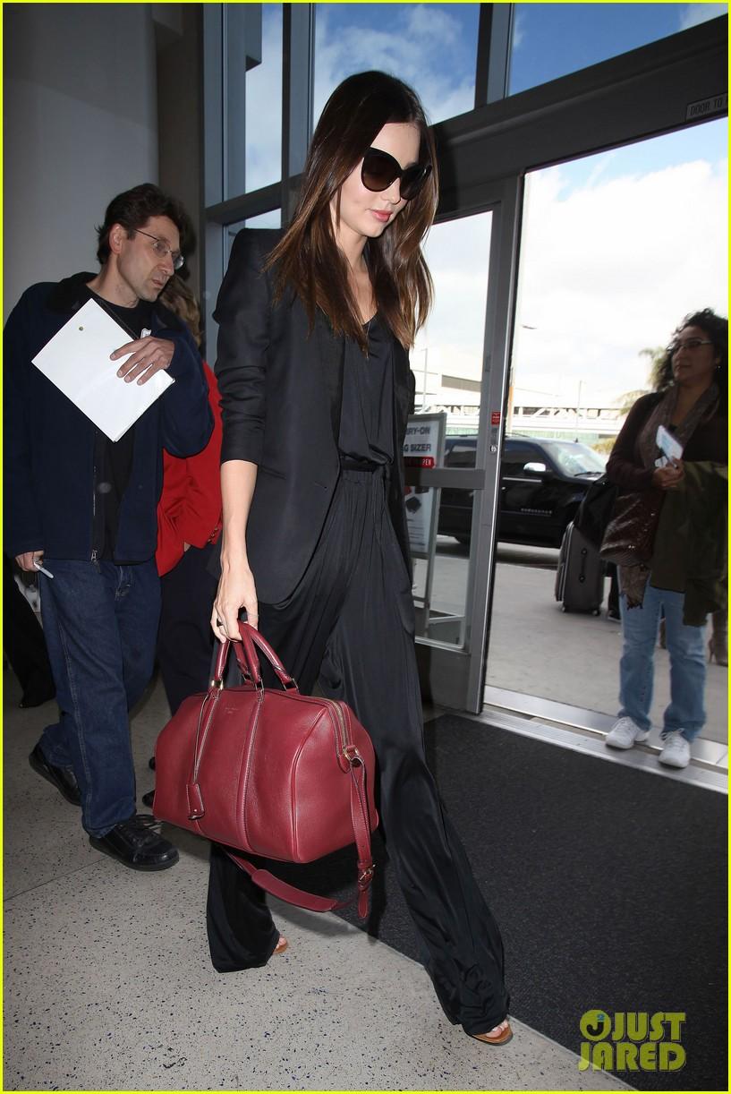 miranda kerr lax black outfit 08