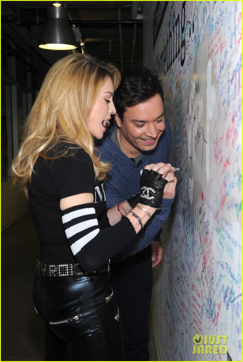 madonna facebook live chat with jimmy fallon 02