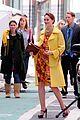 leighton meester yellow coat gossip girl set 11