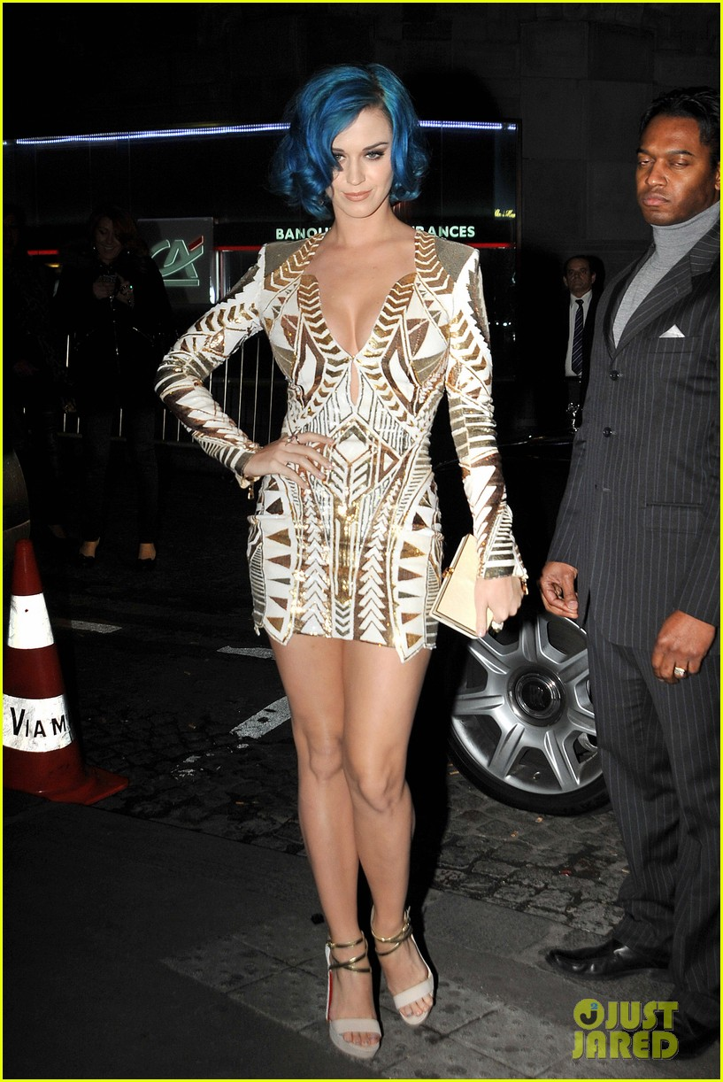 katy perry karl lagerfeld dinner 02