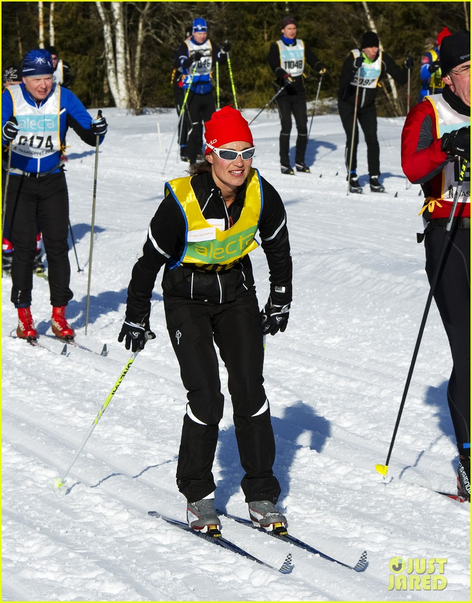 pippa middleton ski race march 03