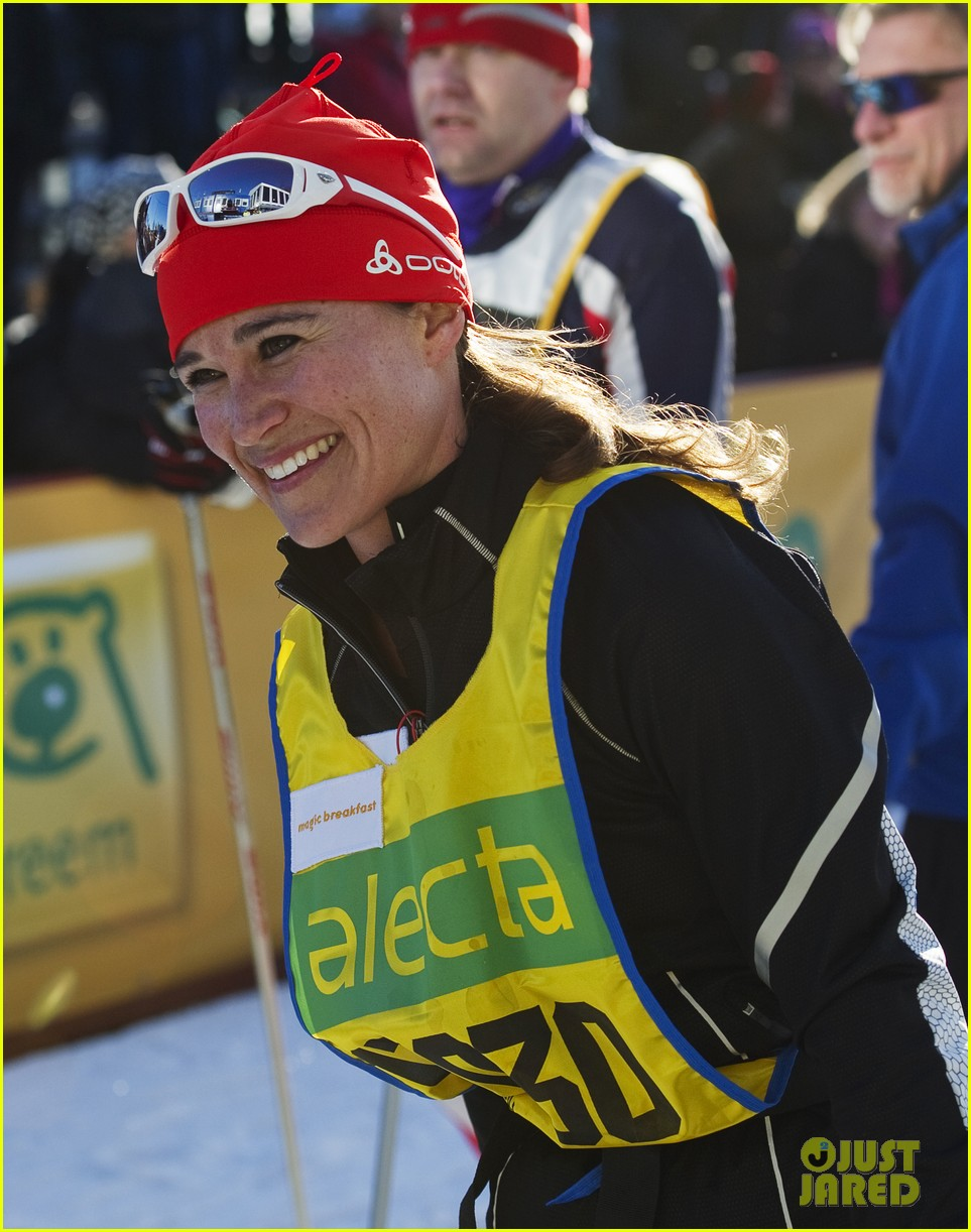 pippa middleton ski race march 04