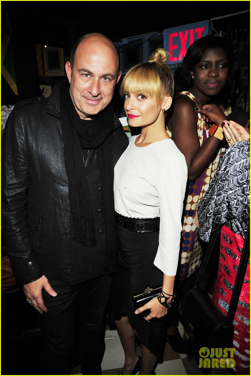 nicole richie fashion star premiere party 04