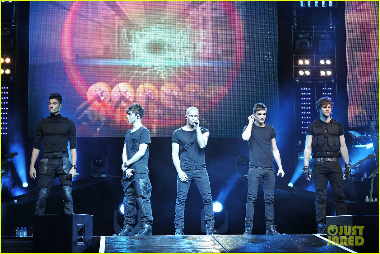 the wanted o2 arena 01