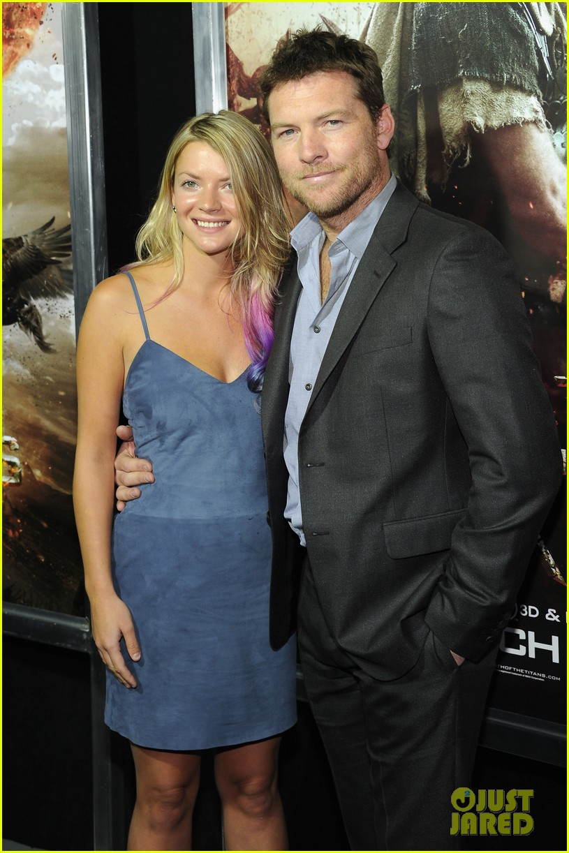 sam worthington liam neeson wrath titans premiere 01