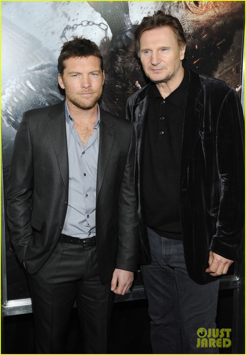 sam worthington liam neeson wrath titans premiere 04