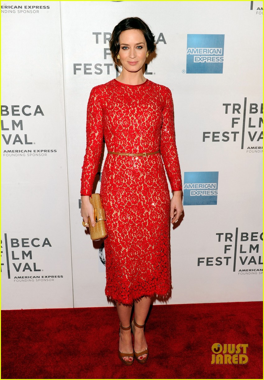 emily blunt your sisters sister premiere tribeca 07