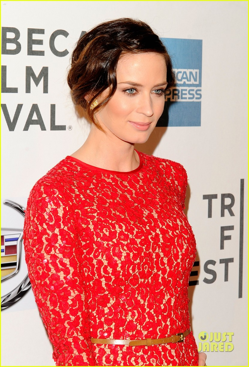 emily blunt your sisters sister premiere tribeca 11