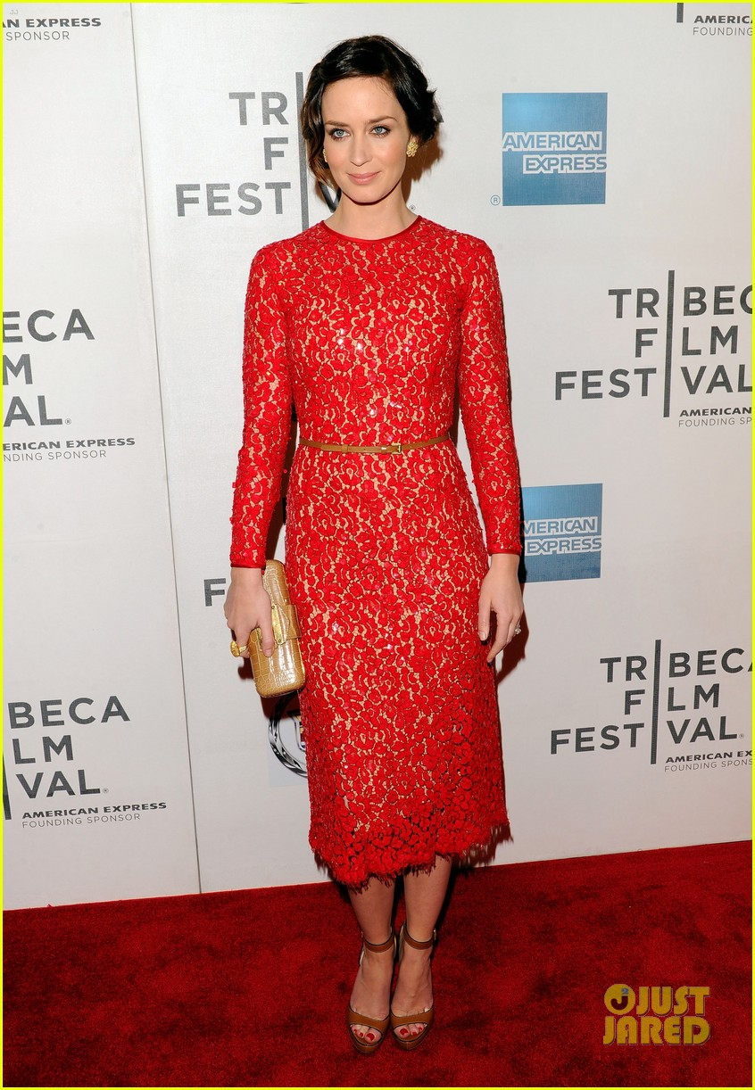 emily blunt your sisters sister premiere tribeca 16