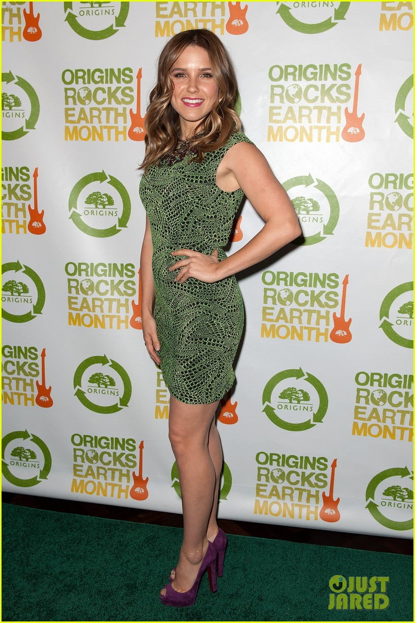 sophia bush origins rocks earth month concert 10