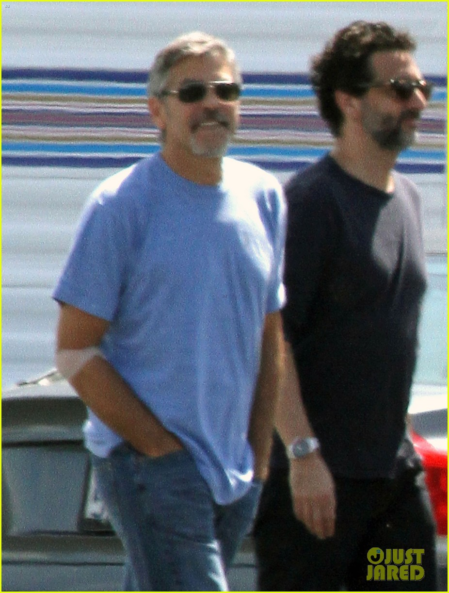 george clooney and friend 02