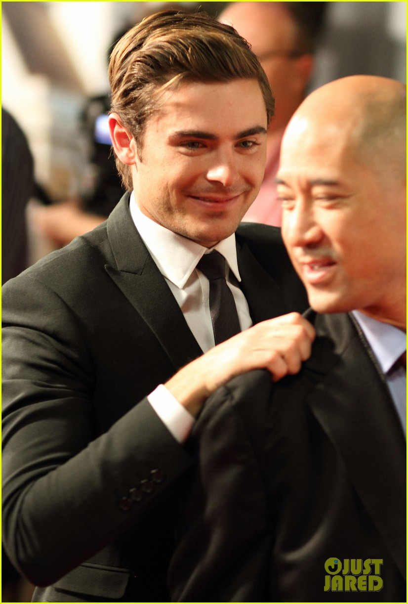 zac efron lucky one adelaide premiere 14