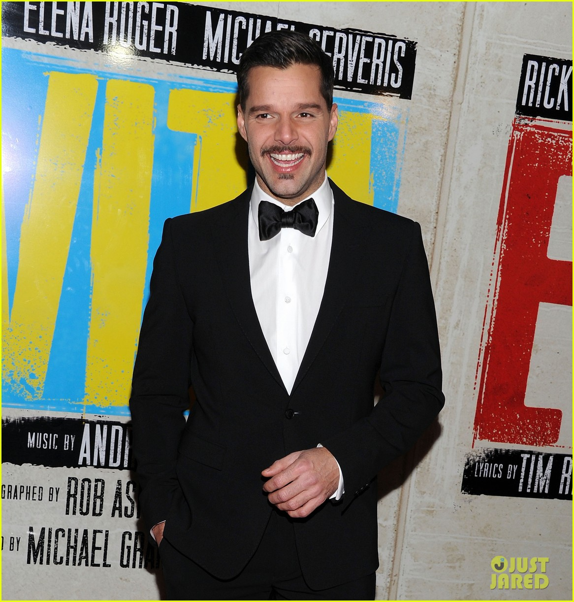 ricky martin evita broadway opening night 03