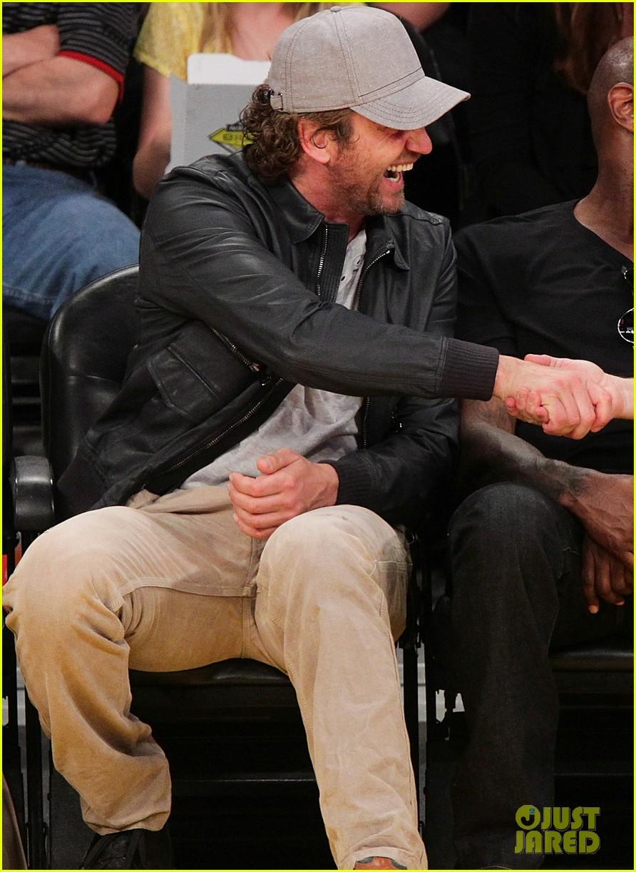Gerard Butler: Lakers ... Gerard Butler Basketball