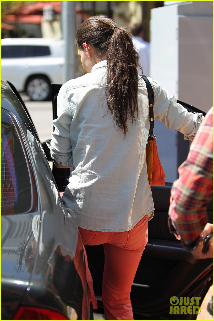 katie holmes toscana lunch 05