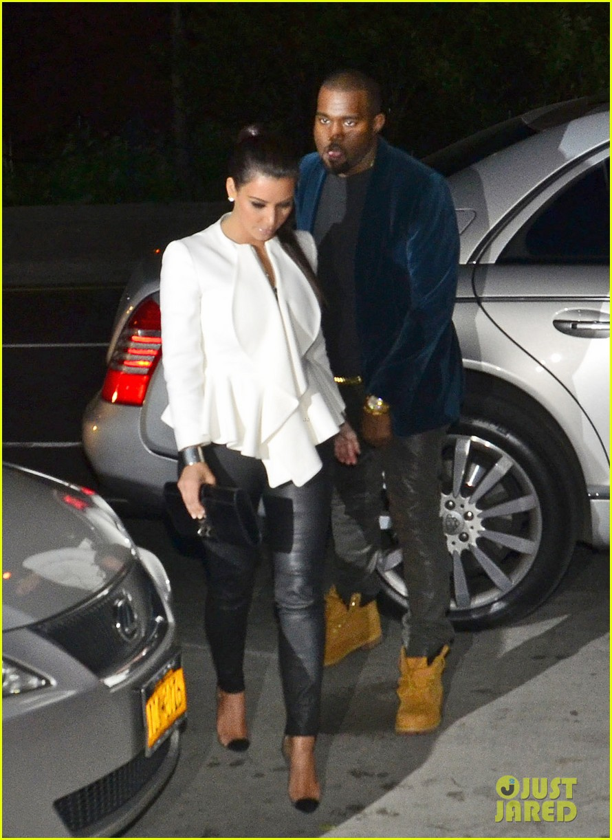 kim kardashian kanye west date night 012654543