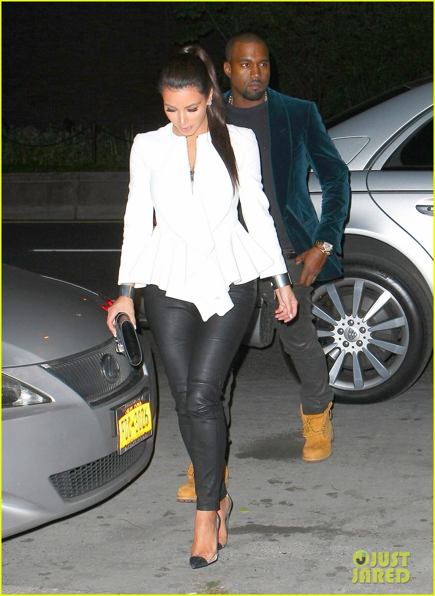 kim kardashian kanye west date night 07