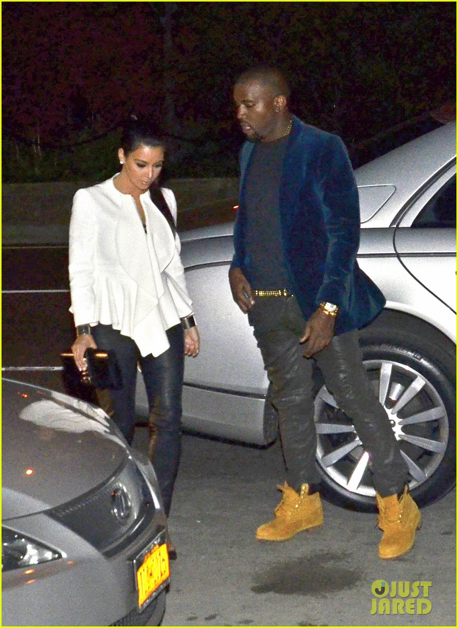 kim kardashian kanye west date night 092654551