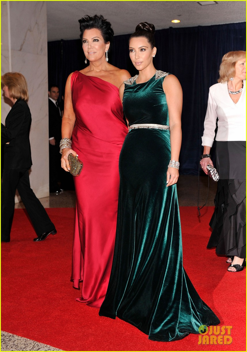 kim kardashian white house correspondents dinner 03