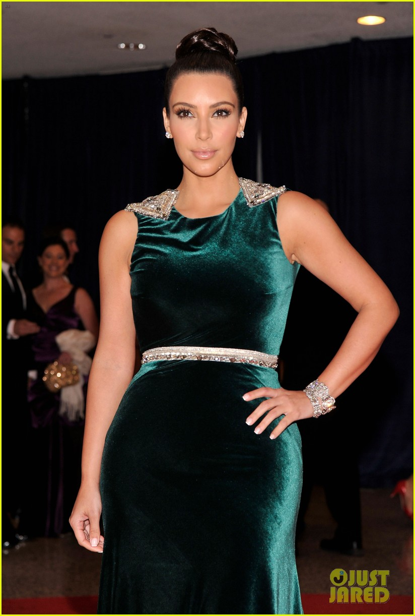 kim kardashian white house correspondents dinner 04