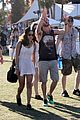 zoe kravitz penn badgley coachella couple 04