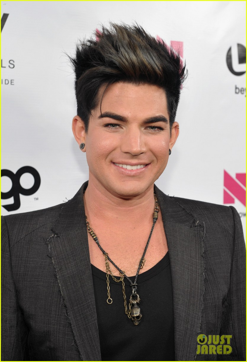 adam lambert logo newnownext awards 162645835
