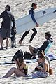 lindsay lohan beach back rub from aliana 23