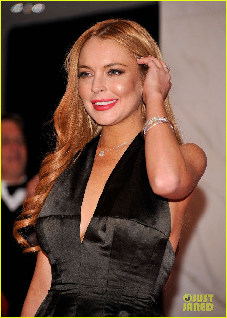 lindsay lohan white house correspondents dinner 06