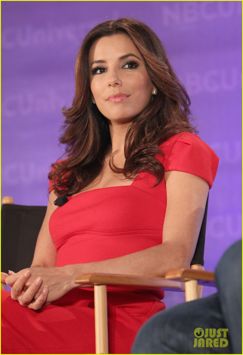 eva longoria wedding nbc press day 15