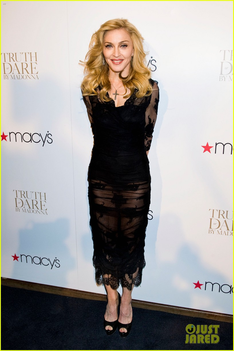 madonna truth or dare fragrance launch 01