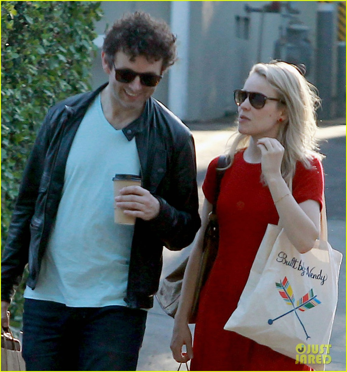 rachel mcadams michael sheen shopping 07