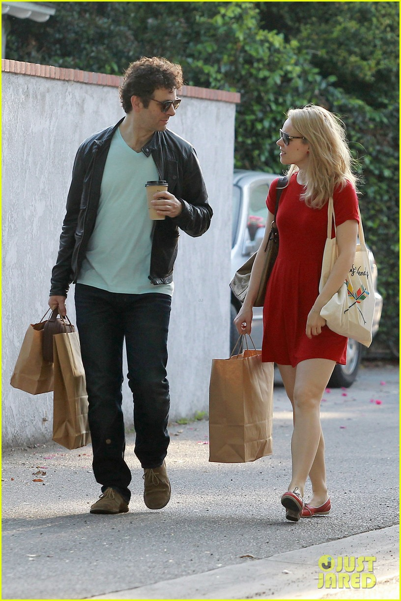 rachel mcadams michael sheen shopping 10