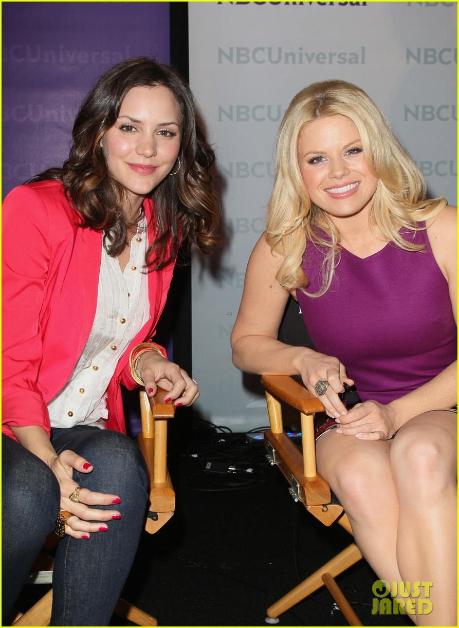 katharine mcphee megan hilty smash nbc press day 14